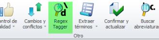 Regex Tagger en memoQ